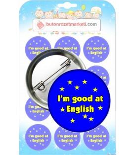 I m good at Englısh İngilizce Rızetler