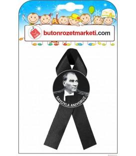 Fiyonklu Atatürk Rozetleri Saygıyla Anıyoruz