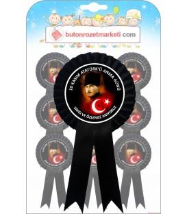 10 Kasım Atatürkü Anma Günü Kokartı
